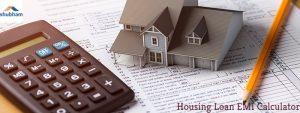 Shubham Housing Loan EMI Calculator